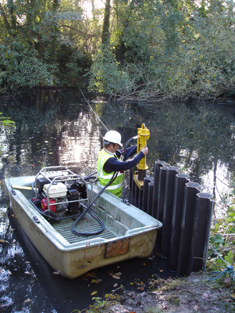 Multilock Sheet Piling Pond Weed And Lake Maintenance